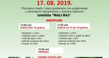 5. OLIMPIJADA STARIH SPORTOVA – PLOŠTINE 2019