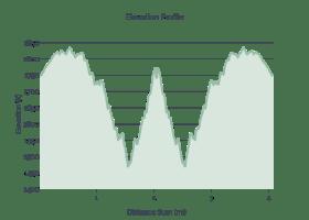 Tamassee Knob Elevation Profile