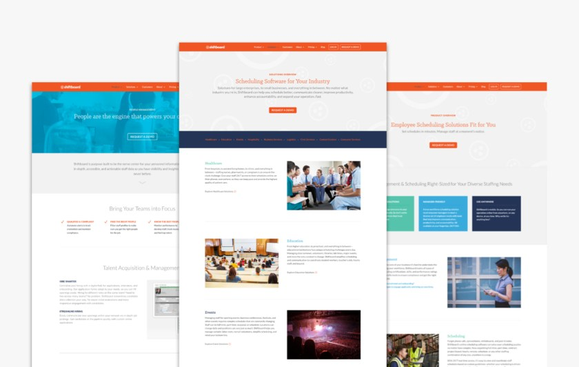 Shiftboard Website