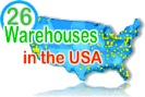 26-warehouses-in Amercia gets product to you Faster