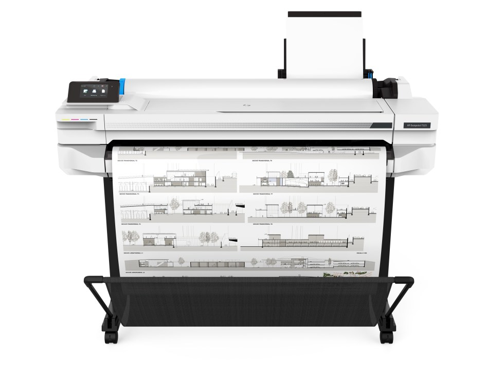 HP DesignJet T525 Front
