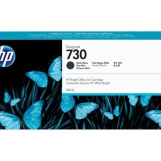 HP 730 300-ml Matte Black DesignJet Ink Cartridge