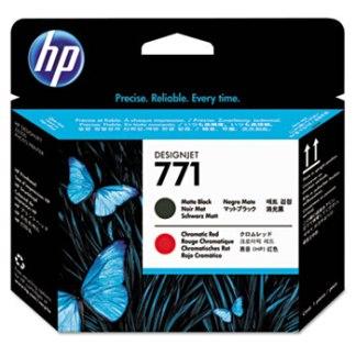 HP 771 Chromatic Red Matte Black Printhead