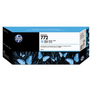 HP 772 Light Cyan Original Ink Cartridge 300ml