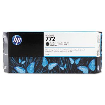 HP 772 Matte Black Original Ink Cartridge 300ml