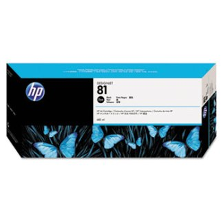 HP 81 Black Original Ink Cartridge