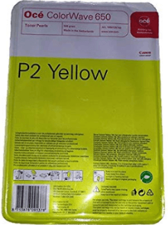 OCE P2 Yellow Toner Pearls bag