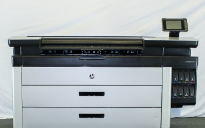 Used HP PageWide XL 5000 – SN:Q002 – 4 Roll