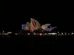 I loved this one! Our iconic Opera House... that I don't remember ever being inside.
