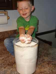 homemade flour