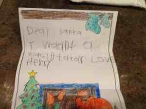 Case IH Santa request