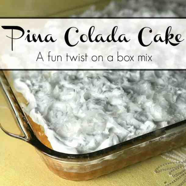fun box of cake mix recipe, easy