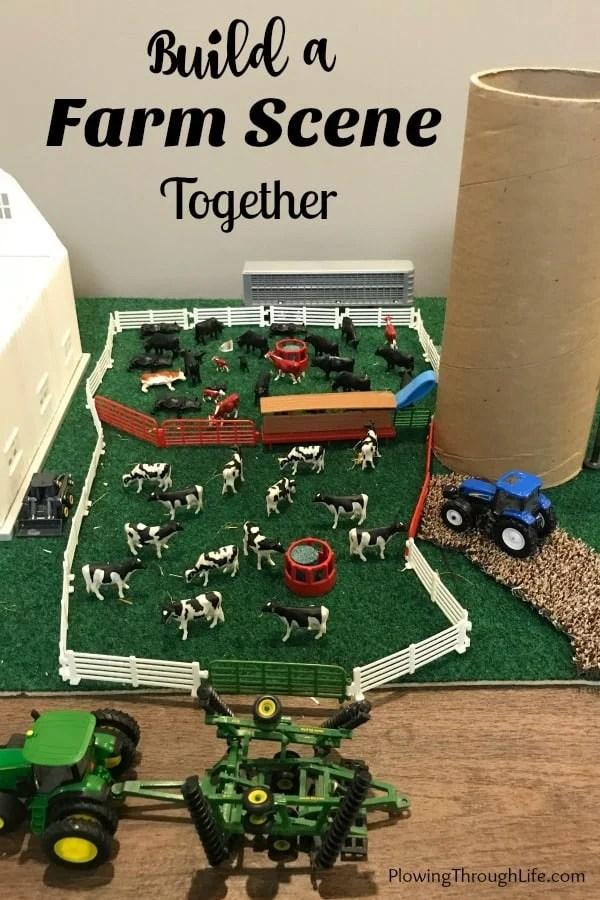build a farm scene
