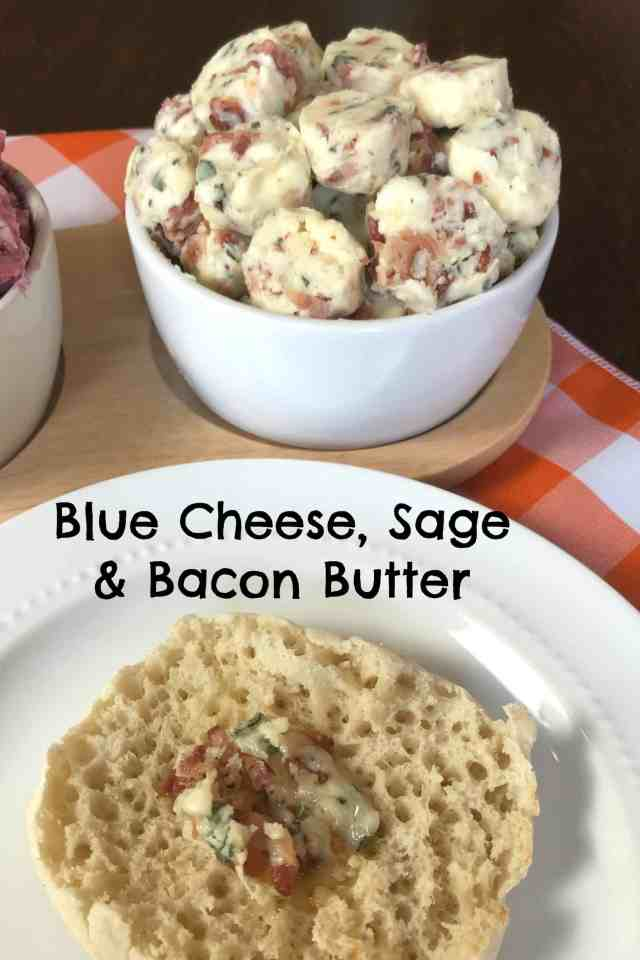 blue cheese sage and bacon gourmet butter