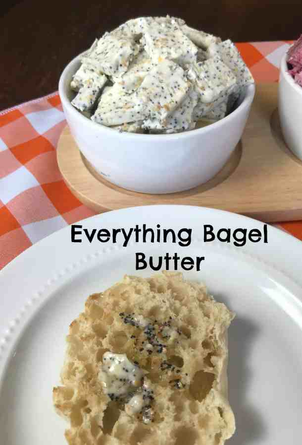 everything bagel gourmet butter recipe