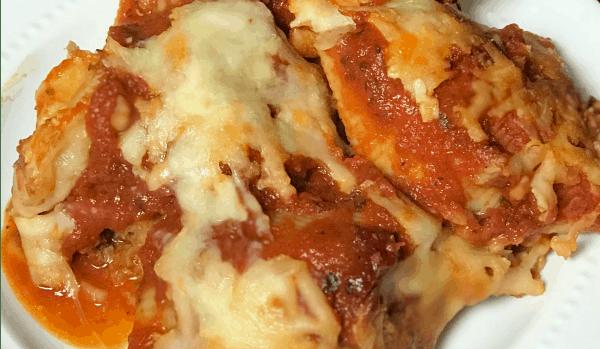 meat and pasta casserole recipe