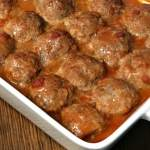 Are you looking for delicious meatball recipes with ground beef?  These Farmhouse Applesauce Meatballs are the best meatballs I've ever eaten!  Our family loves the basic ingredients that that add a nice flavor and keep these meatballs moist!