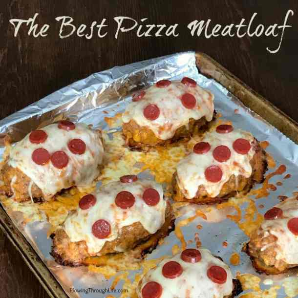 We love pizza and meatloaf, so we've been working to perfect the Best Pizza Meatloaf! Everyone in our family loves this meal because the meat is so tender, the sauce keeps the meatloaves moist and the cheese and pepperoni addgreat flavor! #pizzaparty #meatloaf