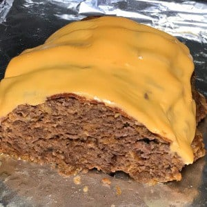 Our Crock Pot Bacon Cheeseburger Meat Loaf is an easy dinner and it can be sliced to make bacon cheeseburger sandwiches if desired.  Even the picky eaters in our family loved this spin on cheeseburgers! #easycrockpotrecipe #baconcheeseburger