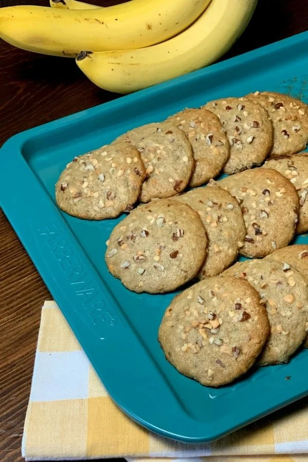 Banana Jumbos are an old-fashioned recipe that tastes like banana bread but in cookie form. These treats are moist and so easy to make. Banana Jumbosare the perfect way to use browning bananas to make a handy breakfast or snack.