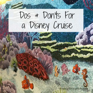 Finding nemo wall mural from Disney Dream cruise ship cabanas