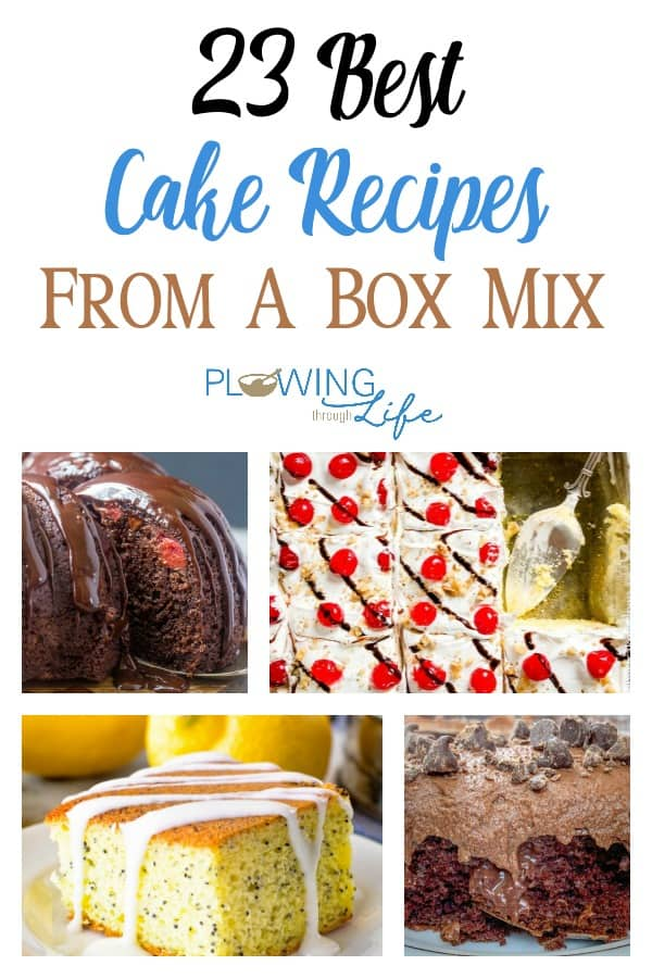 Easy cakes are some of our favorite things to make.  We asked friends to share their best cake from a box mix recipes and now we can't stop thinking about easy cakes!  It's time to get in the kitchen and bake some cakes!