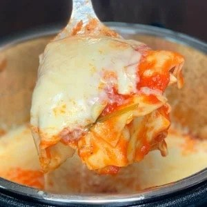 Farmhouse Instant Pot Loaded Lasagna