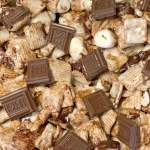 Close up of s'mores cereal bars