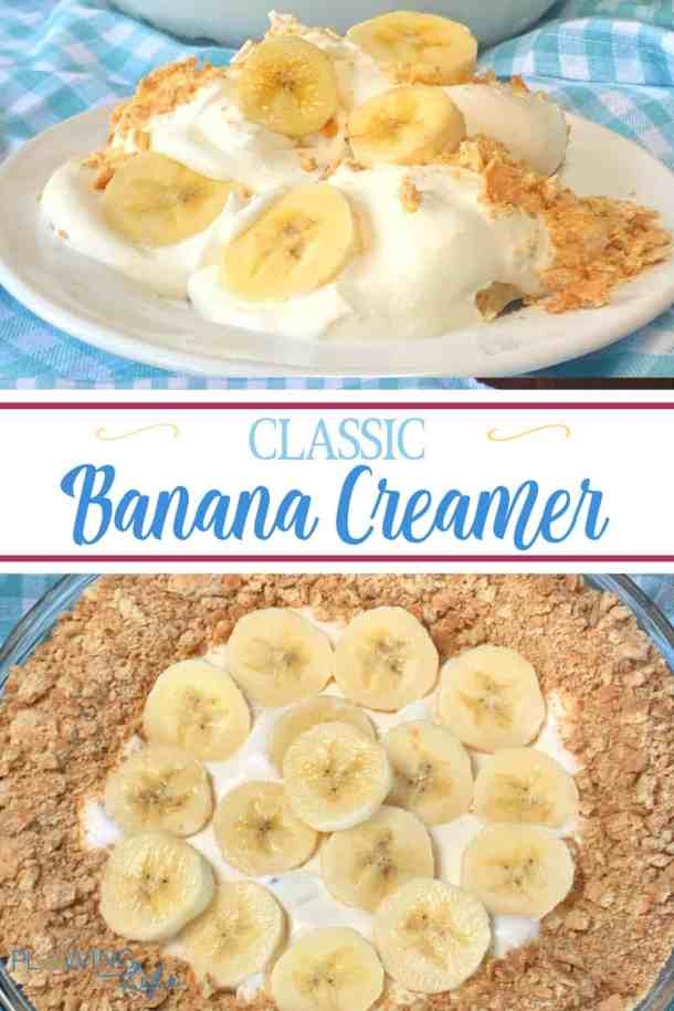 quick and easy banana dessert recipe with 5 ingredients is a perfect dessert for summer cookouts, potlucks and picnics