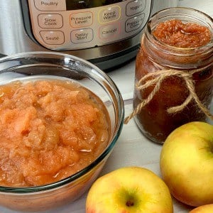 instant pot apple butter and applesauce