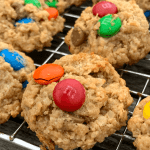 the best monster cookies with m and ms