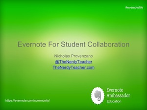 EvernoteForStudentCollaboration