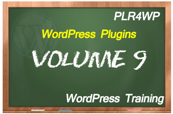plr4wp Volume 9 WordPress Plugins