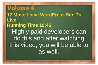plr4wp Vol 4 Video 12 Move Local WordPress Site To Live