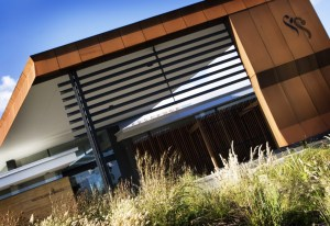 Corten Cladding (Settlers Run Golf Club, Botanic Ridge)