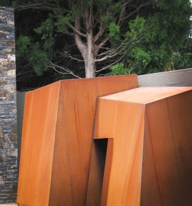 'Crazy' Corten Cladding