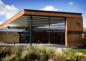 Corten Cladding (Settlers Run Golf Club, Botanic Ridge)