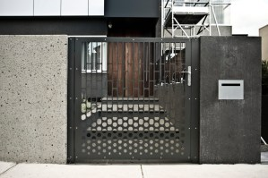 Custom-Designed Pivot Gate