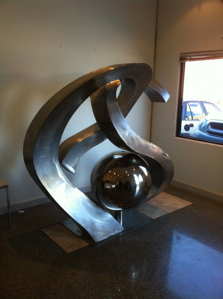 Custom-Designed Monogram Sculpture