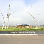 Marriott Waters Reserve, Lyndhurst - Stainless Steel Lettering