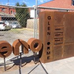 Rustic 3D Lettering and Mailbox