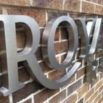'Royadie Rise' Lettering - Berwick