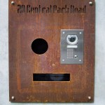 Rustic Entry Panel and Mailbox