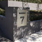 Laser Cut Mailbox Panel