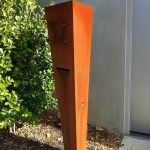 Freestanding Wedge Mailbox
