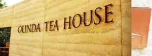 Tea House Signage Lettering, Olinda