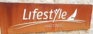 Retirement Community Laser Cut Signage on Perspex, Hastings