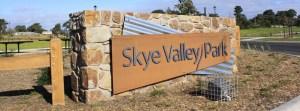Estate Signage with Steel Lettering, Skye