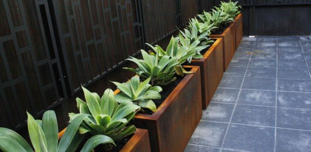 Steel fabricated Planters