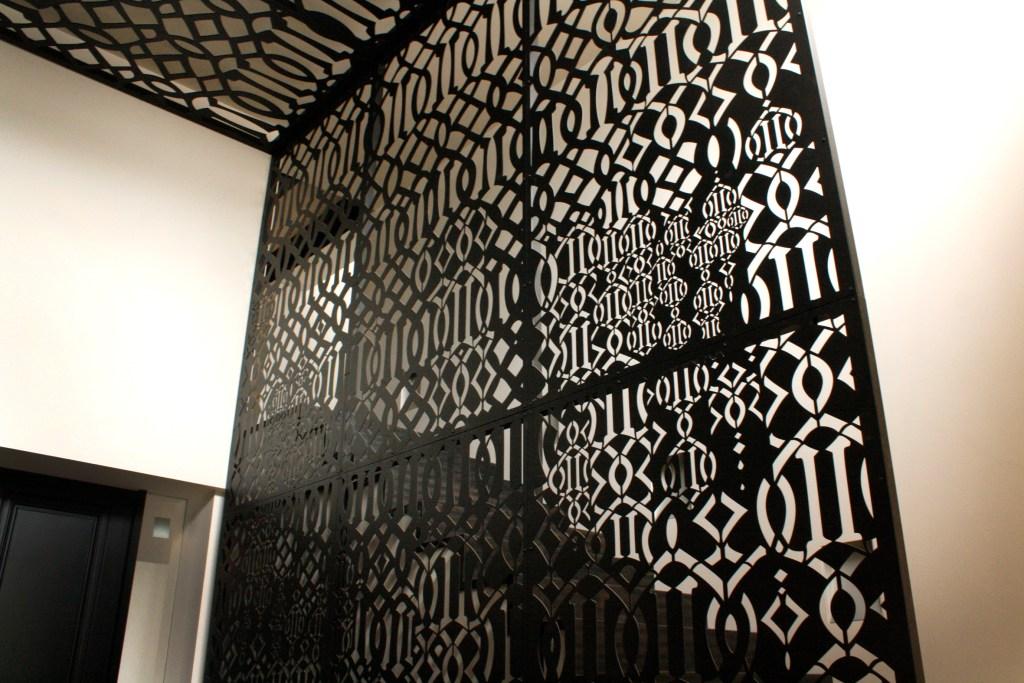 Laser cut screen by PLR Design